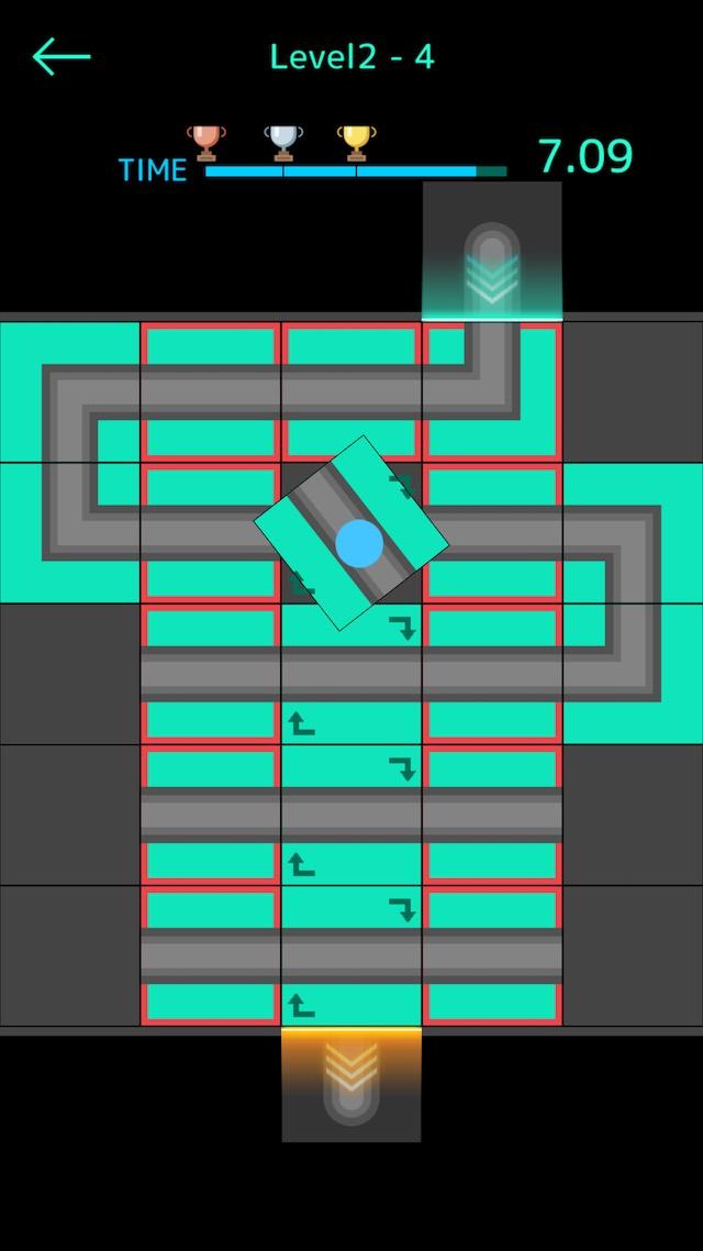 脳トレ系パズルアクション『synapsy』のスクリーンショット_2