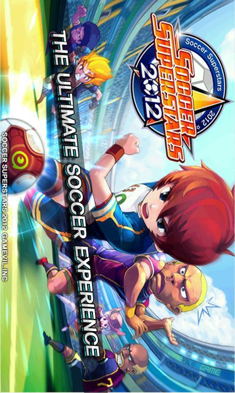 サッカースーパースターズ2012のスクリーンショット_1