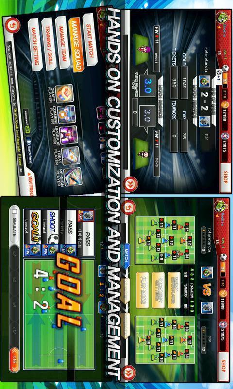 サッカースーパースターズ2012のスクリーンショット_4