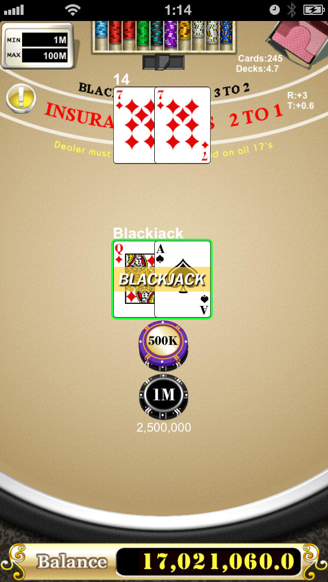 BlackjackManのスクリーンショット_4