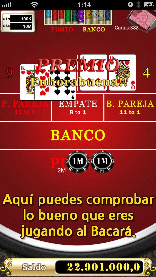 BACARÁのスクリーンショット_3