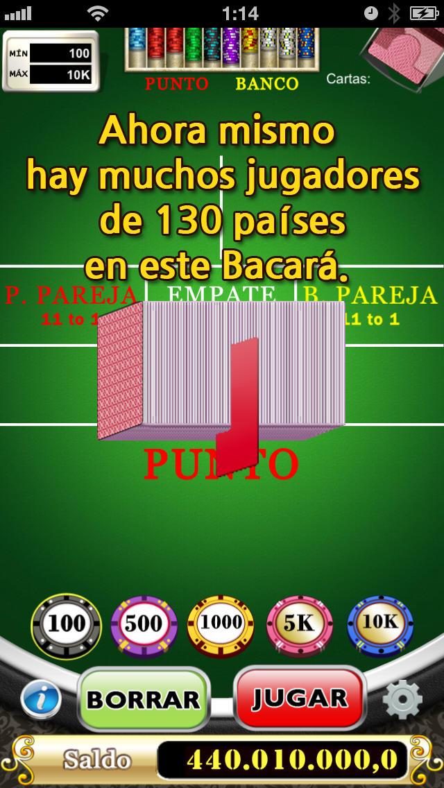 BACARÁのスクリーンショット_4