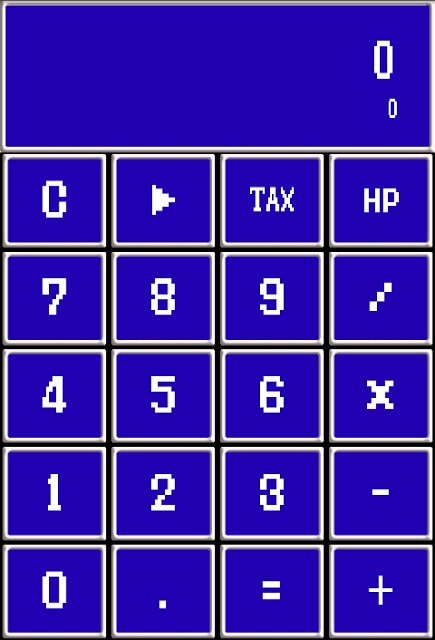 レトロゲーム風電卓F~なつかしい無料の計算機アプリ~のスクリーンショット_1