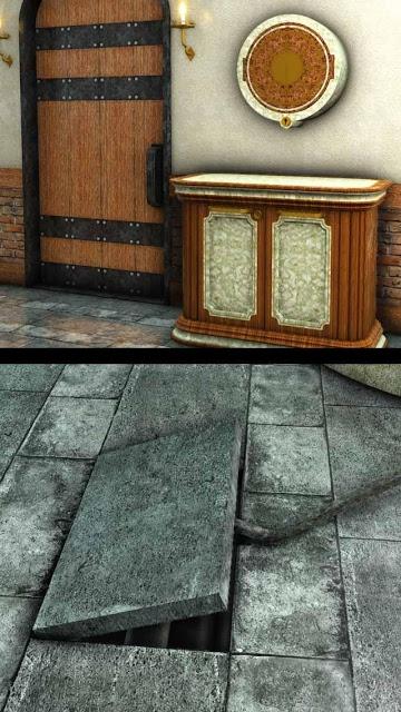 脱出ゲーム 犬と石像の部屋のスクリーンショット_2