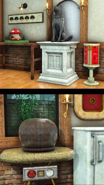 脱出ゲーム 犬と石像の部屋のスクリーンショット_4