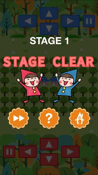 赤ずきんと迷いの森 - 2人で協力もできる 倉庫番 パズルゲームのスクリーンショット_4