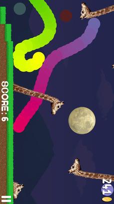 Bouncy Doggy -お絵かきアクションゲームのスクリーンショット_2