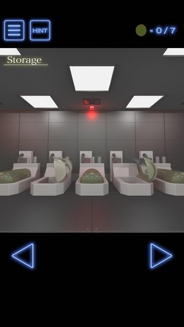 脱出ゲーム 研究施設からの脱出のスクリーンショット_1