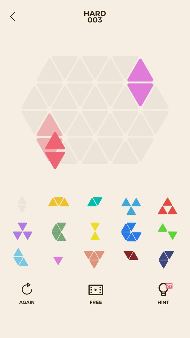 頭が良くなるブロックパズル Trioのスクリーンショット_1