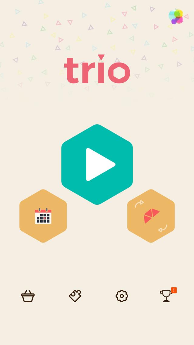 頭が良くなるブロックパズル Trioのスクリーンショット_2