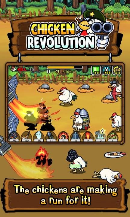 チキンレボリューションのスクリーンショット_2