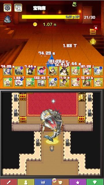 タップオブレジェンド -対戦できるクリッカー&2DRPG-のスクリーンショット_5