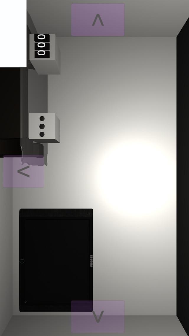 シンプルな部屋からの脱出ゲームのスクリーンショット_4