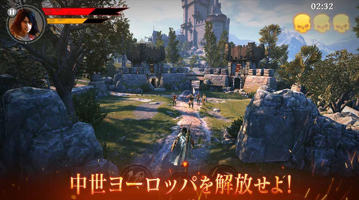 Iron Blade(アイアンブレイド)—メディーバルRPG—のスクリーンショット_1