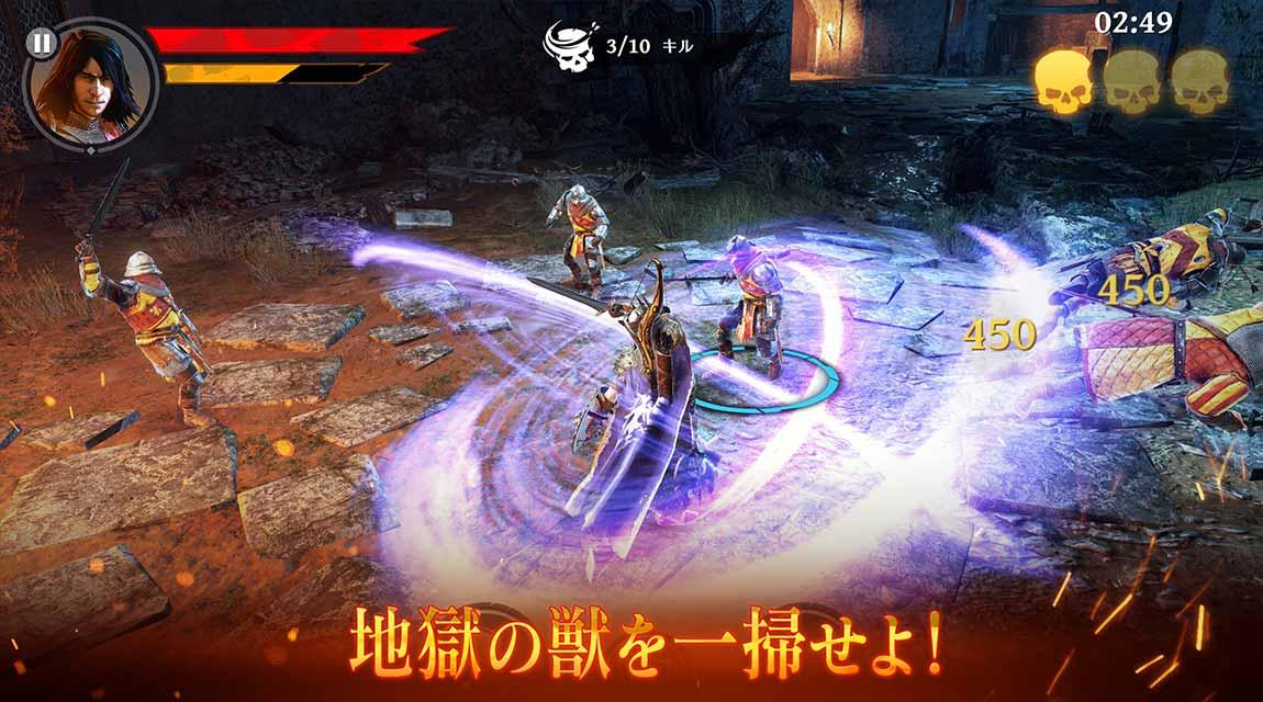 Iron Blade(アイアンブレイド)—メディーバルRPG—のスクリーンショット_3