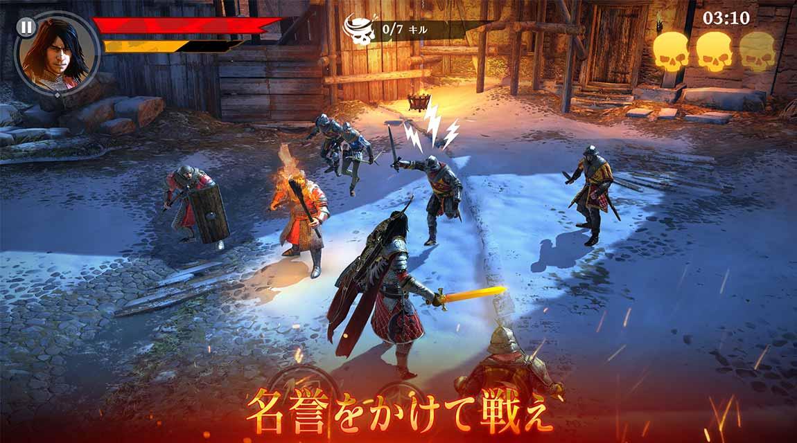 Iron Blade(アイアンブレイド)—メディーバルRPG—のスクリーンショット_5