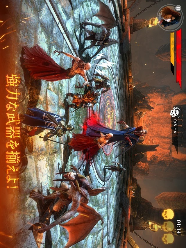 Iron Blade アイアンブレイド—メディーバルRPGのスクリーンショット_4