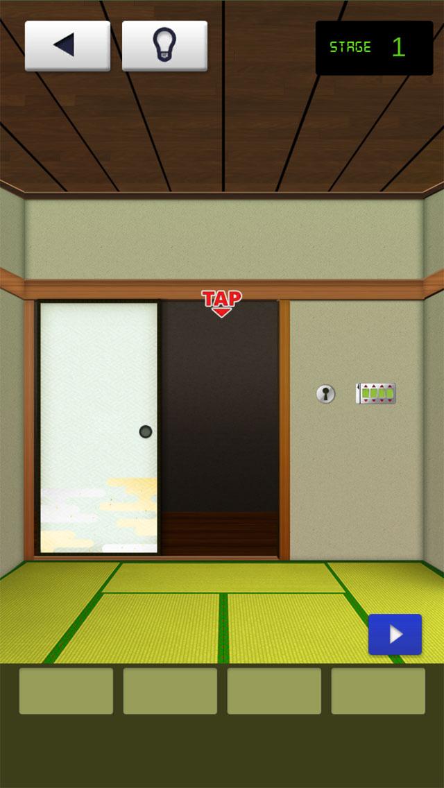 和の脱出ゲーム!「THE 和室」のスクリーンショット_2