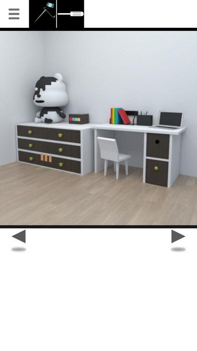 脱出ゲーム -白黒-のスクリーンショット_1