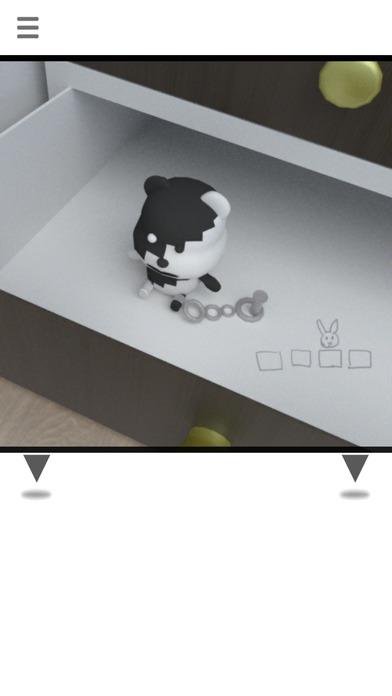 脱出ゲーム -白黒-のスクリーンショット_2