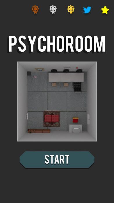PsychoRoom -無料脱出ゲーム-のスクリーンショット_1