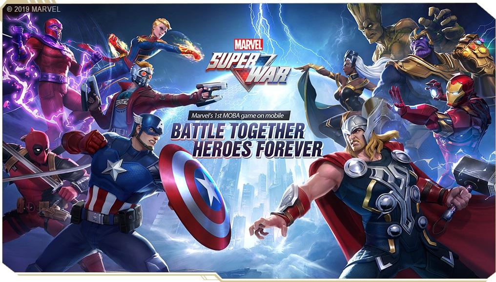 MARVEL Super Warキービジュアル